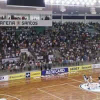 Photo taken at Arena Santos by Cleyton P. on 11/9/2011