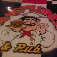 Photo taken at Andy's Diner & Pub by Alan C. on 1/6/2012