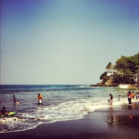 Photo taken at Pantai Pelabuhan Ratu by Fanny O. on 8/22/2012