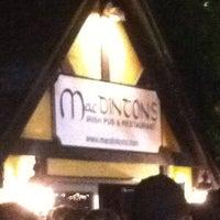 Photo taken at MacDinton's Irish Pub & Restaurant by Sasha D. on 10/6/2011