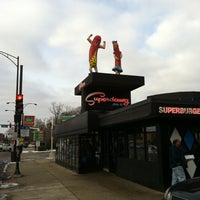 Photo taken at Superdawg Drive-In by Gregory K. on 1/29/2011