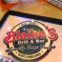 Photo taken at Blaine's Grill & Bar by Matthew S. on 7/25/2012