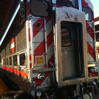 Photo taken at Caltrain Baby Bullet #329 Northbound by Jared on 9/19/2011