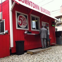 Photo taken at Down Town Burgers by Velma S. on 1/31/2012