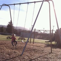 Photo taken at Cannon Beach Playground by Betsy on 12/16/2011