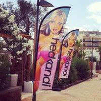 Photo taken at Hedkandi Bar Ibiza by Thiago R. on 7/9/2012