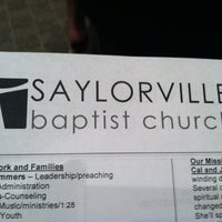 Photo taken at Saylorville Church by dustin r. on 5/15/2011
