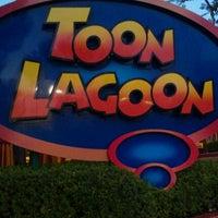 Photo taken at Toon Lagoon by Raymond D. on 10/12/2011