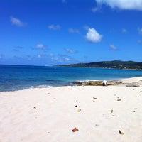 Photo taken at Dutch Beach by Dwayne O. on 1/28/2012