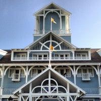 Photo taken at Disney's Yacht Club Resort by Jeff S. on 8/17/2012