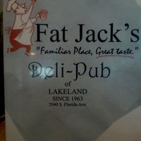 Photo taken at Fat Jack's Deli & Pub by Mike R. on 10/15/2011