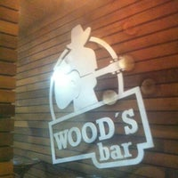 Photo taken at Wood's Bar by Fabio M. on 3/31/2012
