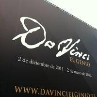 Photo taken at Exposición Da Vinci by Juan M. on 4/5/2012