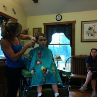 Photo taken at Elaine Barndt Barber Shop by Michael W. on 8/27/2012