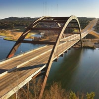 Photo taken at 360 Bridge (Pennybacker Bridge) by Paul E. on 1/1/2011