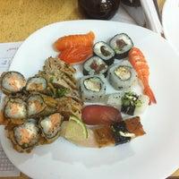 Photo taken at Wok Sushi by Fernando P. on 8/27/2012