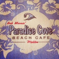 Photo taken at Paradise Cove Beach Cafe by Nicholas N. on 12/4/2011