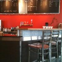 Photo taken at SteamDot Espresso & Coffee Lab by Amanda D. on 1/10/2012