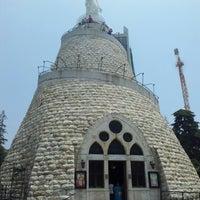Photo taken at Notre Dame du Liban Harissa by Konstantin T. on 6/17/2012