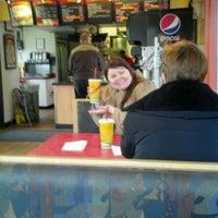 Photo taken at Taco John's by Daniel F. on 3/4/2012