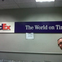Photo taken at FedEx Ship Center by ShopSaveSequin on 11/19/2011