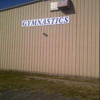 Photo taken at Oklahoma Gymnastics Academy by Shane K. on 1/28/2012