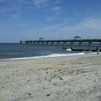 Photo taken at Buckroe Beach by Cheryl L. on 8/17/2011