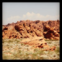 Photo taken at Valley of Fire State Park by Beverly L. on 9/6/2012
