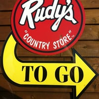 Photo taken at Rudy's Country Store And Bar-B-Q by David F. on 7/22/2011