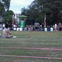 Photo taken at Lapangan kompleks unhas barayya by Nasyra G. on 8/29/2011