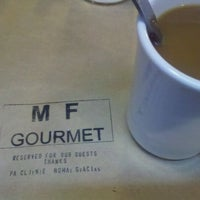 Photo taken at MF Gourmet by Connie K. on 11/6/2011