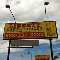 Photo taken at Liberty Cars and Trucks by Paul W. on 11/4/2011