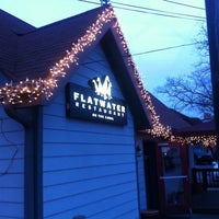 Photo taken at Flatwater Restaurant by Peter K. on 3/17/2011