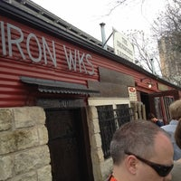 Photo taken at Iron Works BBQ by Kemp E. on 3/13/2012