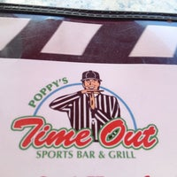 Photo taken at Poppys Timeout Sports Bar And Grill by Kenneth W. on 6/19/2012