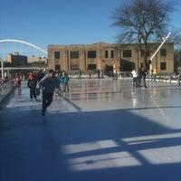 Photo taken at Brenton Skating Plaza by Christina K. on 2/13/2011