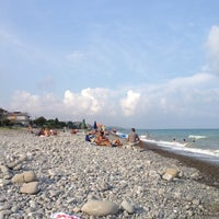 Photo taken at Trebisacce Beach by Antonio D. on 8/14/2012