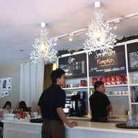 Photo taken at Fika Swedish Cafe & Bistro by Tracy on 1/19/2012