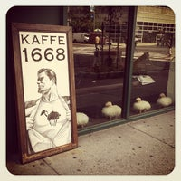Photo taken at Kaffe 1668 by Carl M. on 8/8/2012