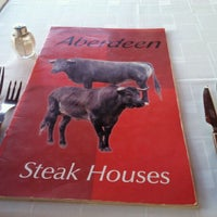 Photo taken at Aberdeen Steak House by Andrew S. on 10/24/2011