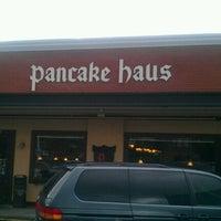 Photo taken at Pancake Haus by Jerin M. on 7/16/2011