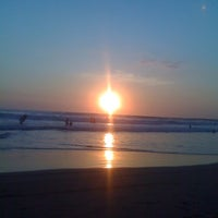 Photo taken at Playa Bonfil by Pepp Q. on 1/1/2012