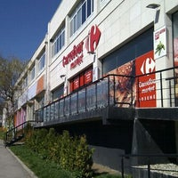 Photo taken at Carrefour by Трайчо В. on 4/7/2012