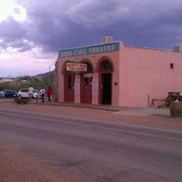 Photo taken at The Original Bird Cage Theatre Of Tombstone by Saphira A. on 8/1/2011