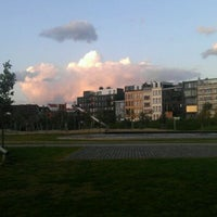 Photo taken at Park Spoor Noord by Claudio C. on 10/6/2011