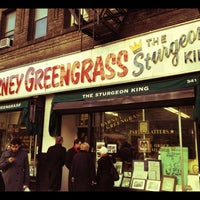 Photo taken at Barney Greengrass by Kate C. on 12/11/2011