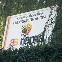 Photo taken at A.S. Roma - Centro Sportivo Fulvio Bernardini by RAFFAPAZ on 1/4/2012