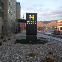Photo taken at Hyatt Place Salt Lake City/Downtown/The Gateway by Joshua P. on 3/26/2012