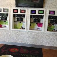 Photo taken at Yobe Frozen Yogurt by Dallas D. on 5/27/2012