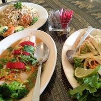 Photo taken at Titaya's Thai Cuisine by Yuuka on 8/6/2012